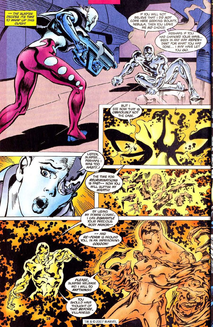 Read online Silver Surfer (1987) comic -  Issue #110 - 30