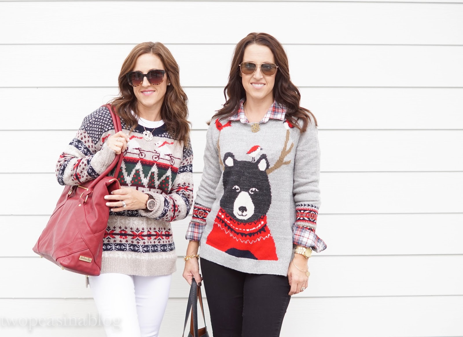 1af48890a8c Two Peas in a Blog  Holiday Sweaters + Fun   Unique Gift Guide