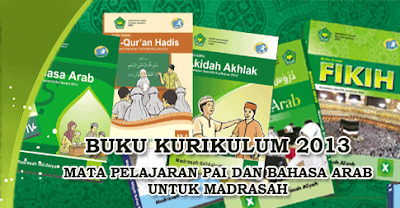 Download Buku Bahasa Arab Mi Kurikulum 2013 Kelas 1, 2, 3, 4, 5, 6