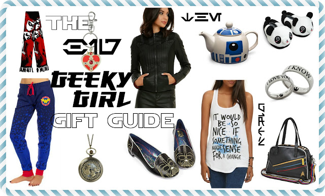 The Big Geeky Girl Gift Guide