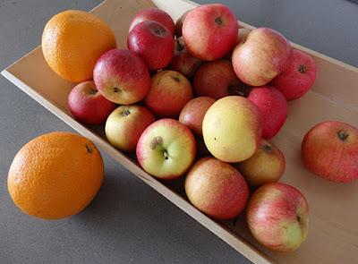 Manzanas y naranjas