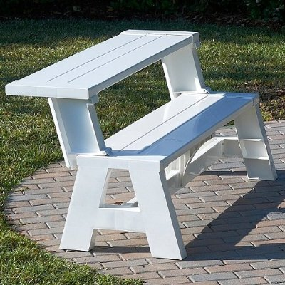 Bench Furniture Ideas Bench That Turns Into A Table