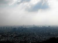 vista dal monte namsan seoul