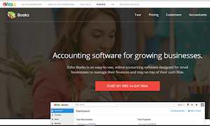 Zoho Books Accounting software for growing businesses