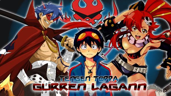 Daftar Film Anime Mirip Fairy Tail - Tengen Toppa Guren Lagan