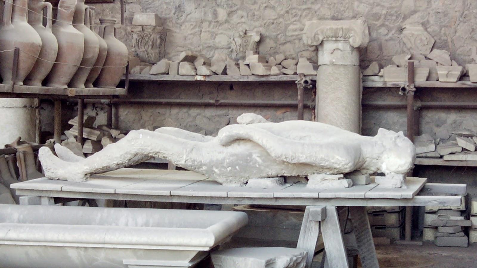 pompeia figuras gesso 2 - Pompei