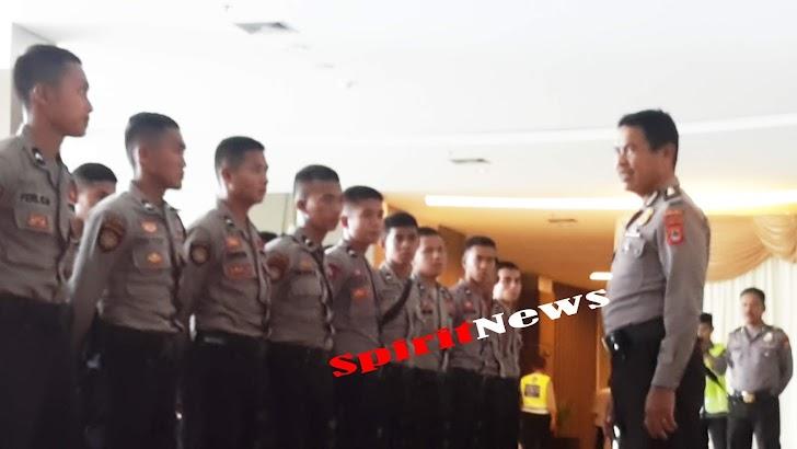 Kompol H Muhiddin Yunus, Pimpin 50 Sabhara Polda Sulsel di Hotel Dalton