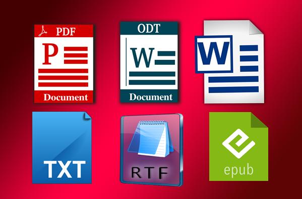 تحميل أي صفحة ويب في صيغة RTF , EPUB , PDF , WORD...