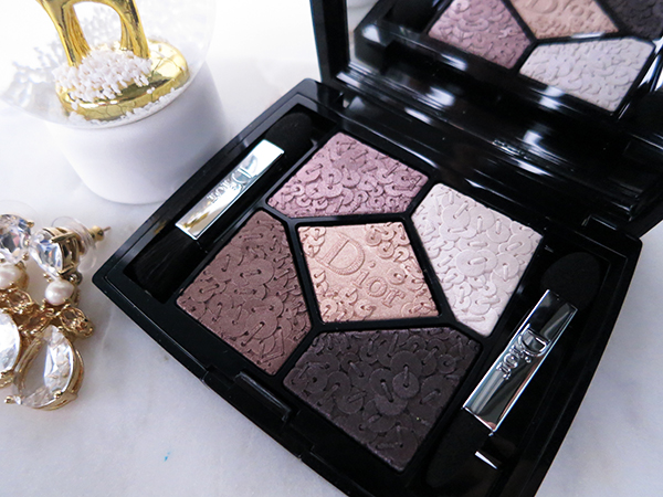 Dior Holiday 2016 Splendor Collection 5 Couleurs eyeshadow palette 776 Precious Embroidery