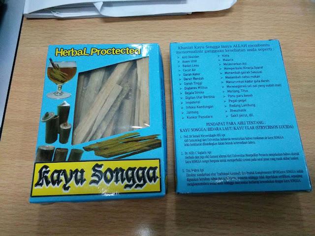 Manfaat Kayu Songga
