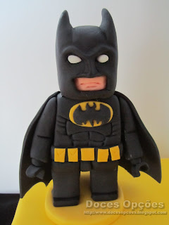 batman lego sugar paste