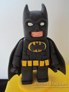 batman lego sugar paste
