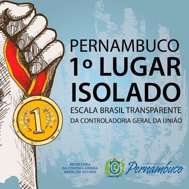 Resultado de imagem para imagens de Pernambuco é o Estado mais transparente do Brasil