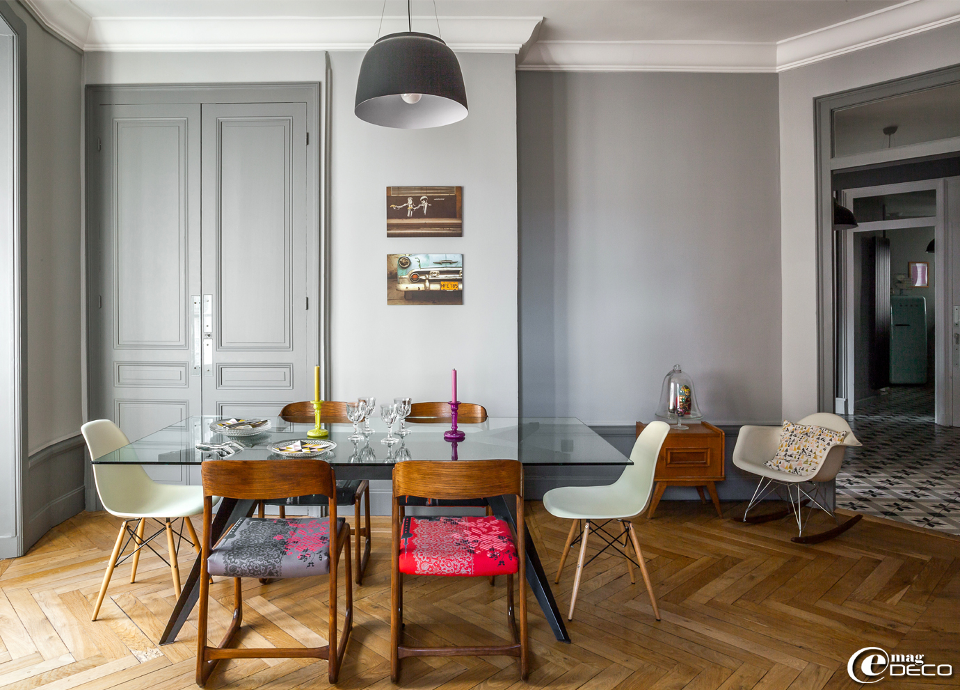 Un appartement trendy lyon e magdeco magazine de for Arredamento particolare