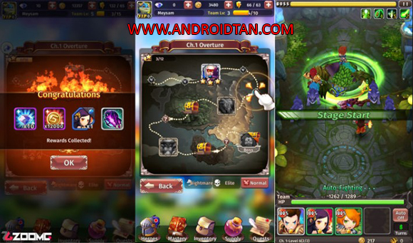 Hyper Heroes Marble-Like RPG Mod Apk Free Download