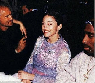 Tupac Shakur who dated Madonna wrote letter from prison