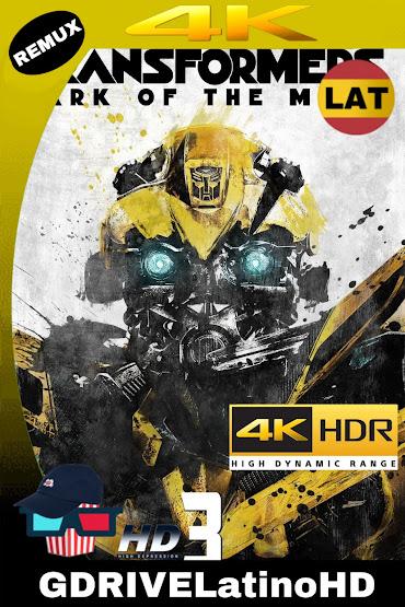 Transformers: El Lado Oscuro De La Luna (2011) BDREMUX 2160P 4K HDR Latino-Español-Ingles MKV