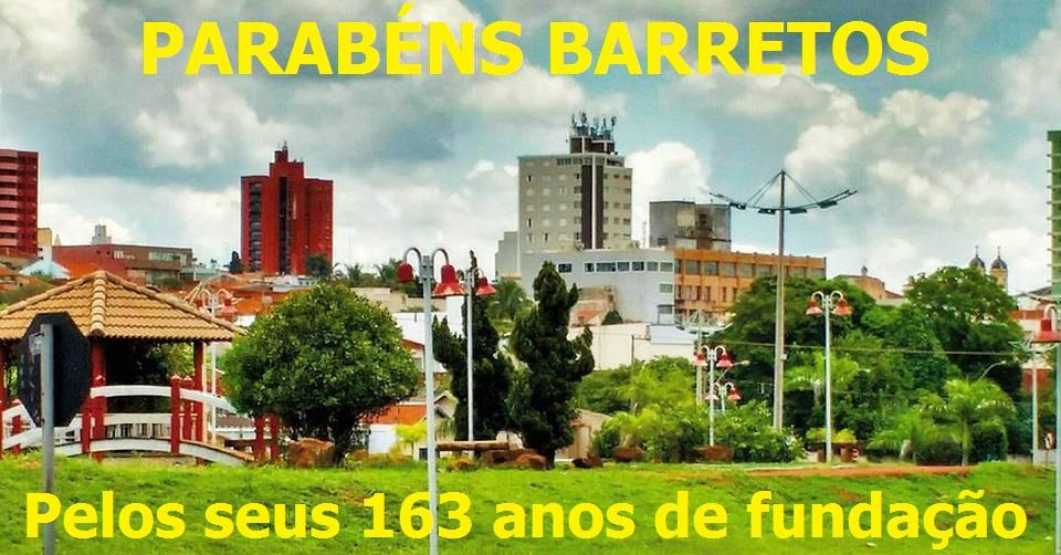 Parabéns Barretos capital nacional do Rodeio pelos seus 163 de fundação
