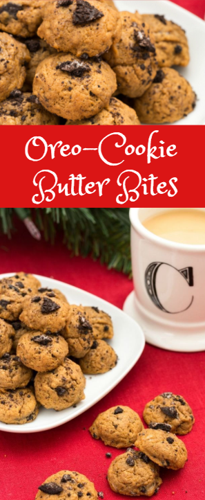 Oreo-Cookie Butter Bites