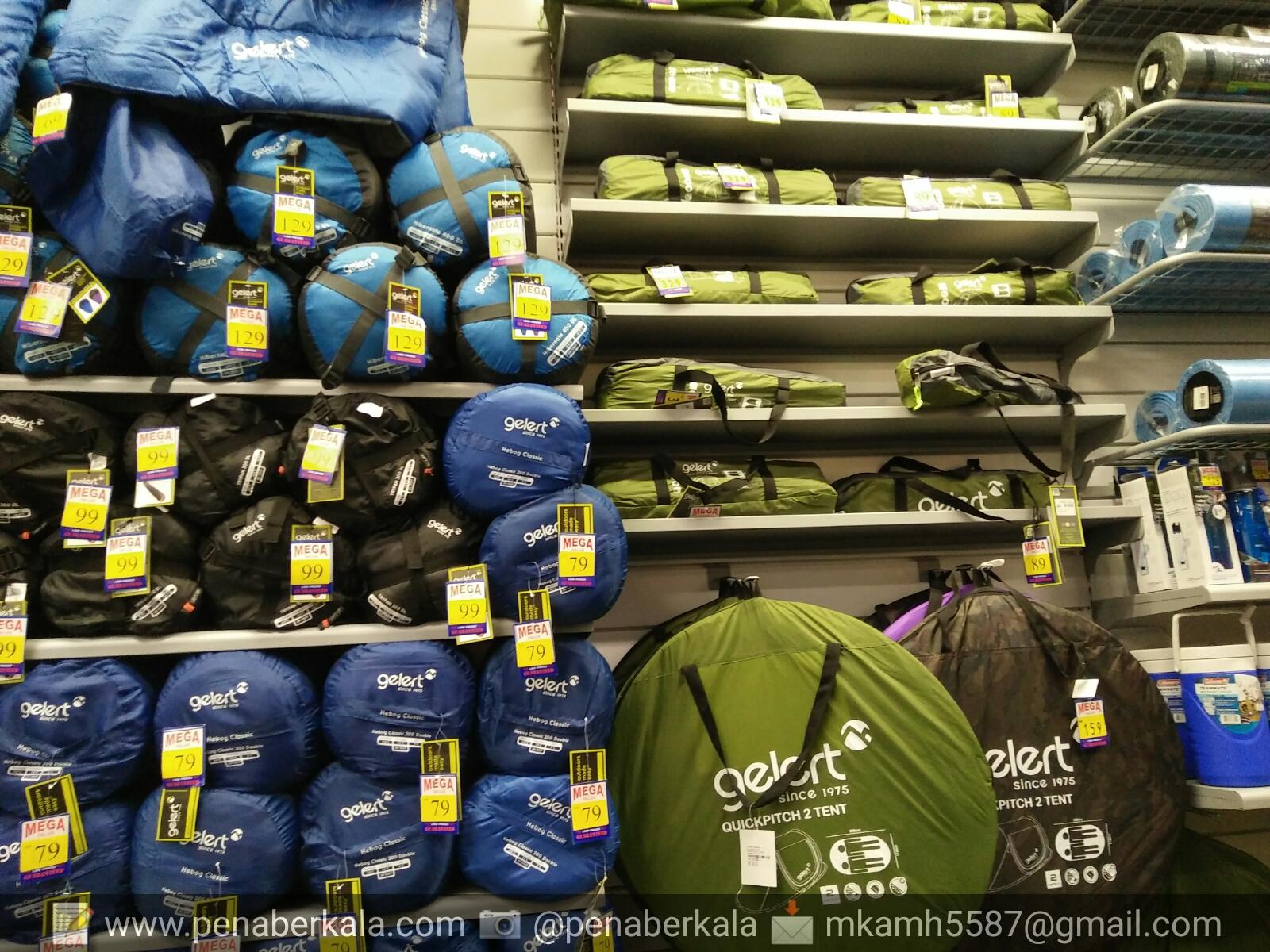 Sleeping bag dan khemah (iglu tent) & VISIBLE VOICE: JUALAN MURAH DI SPORTSDIRECT.COM