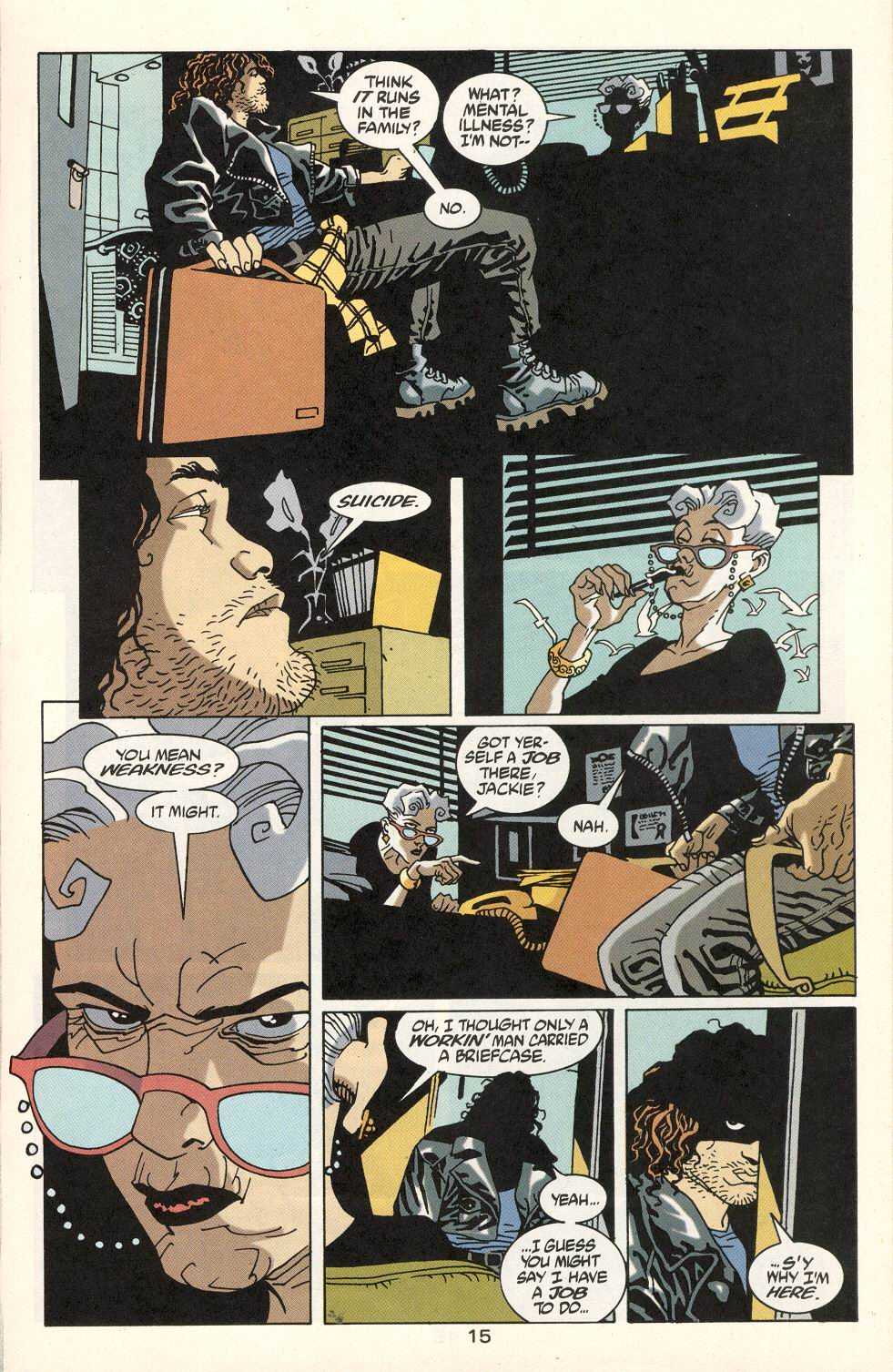 Read online 100 Bullets comic -  Issue #22 - 16