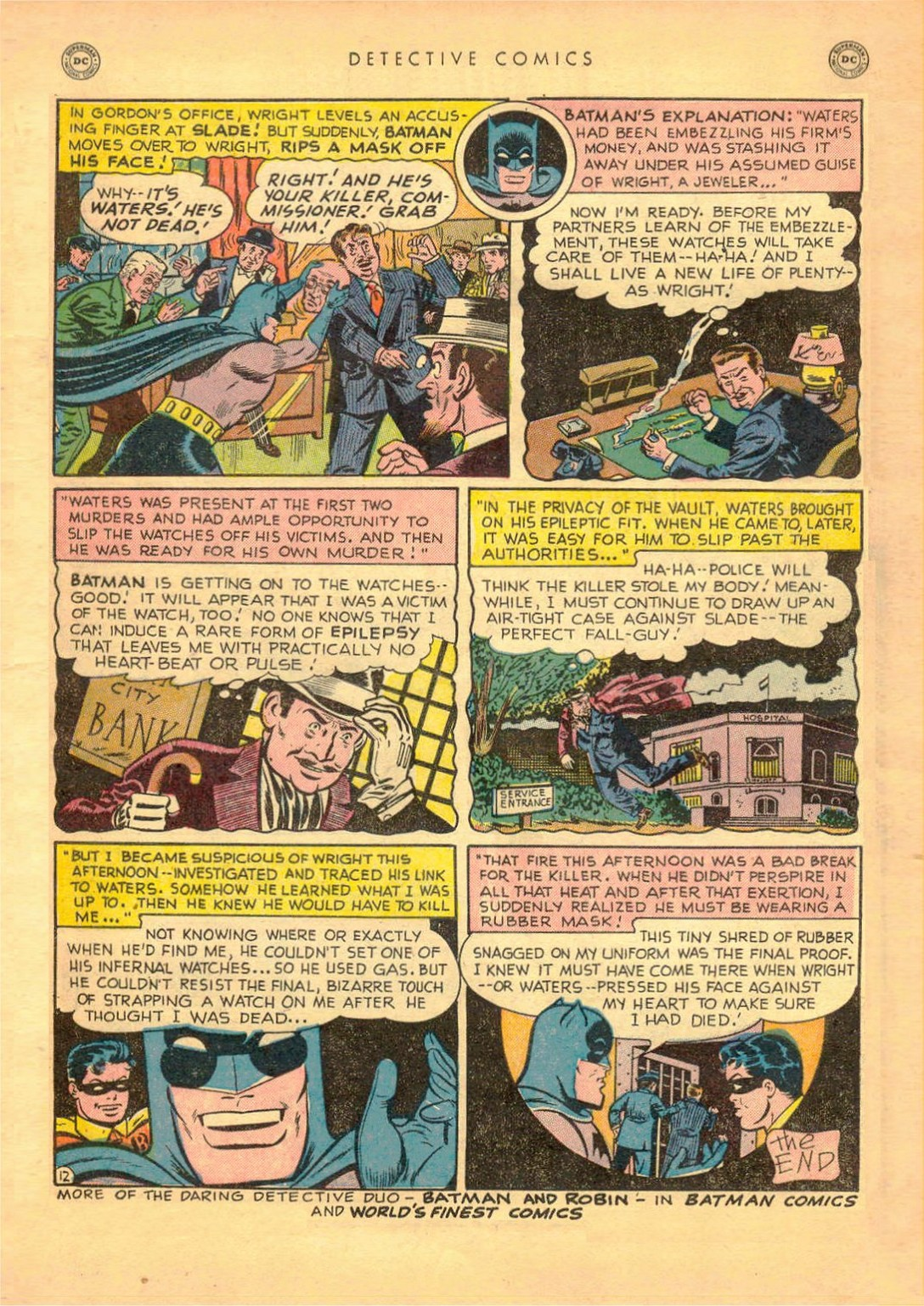 Read online Detective Comics (1937) comic -  Issue #161 - 14