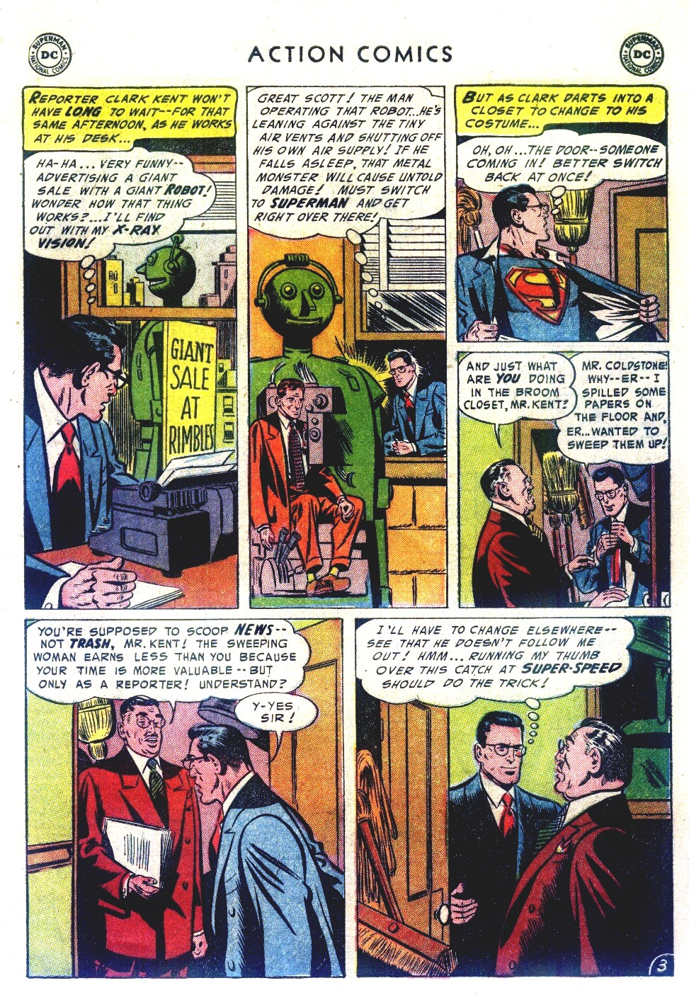 Read online Action Comics (1938) comic -  Issue #192 - 5