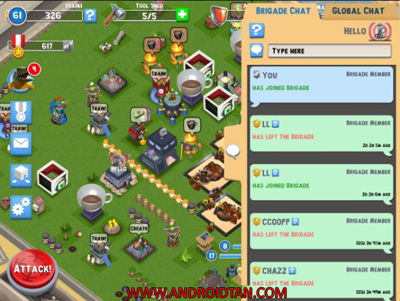 Free Download Temsa7 Army Mod Apk v2.1 (Unlimited Resources) Android Terbaru 2017