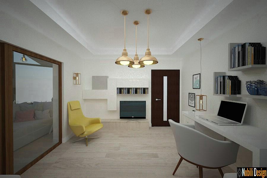 Design interior vila moderna Constanta - Amenajare interioara casa cu etaj in Constanta.
