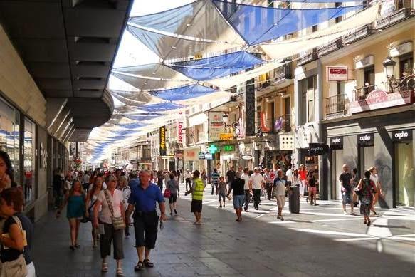 Calle de Preciados Madri
