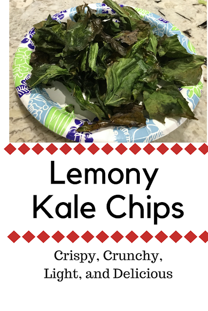 Lemon flavored kale chips http://www.glutenfreematters.com