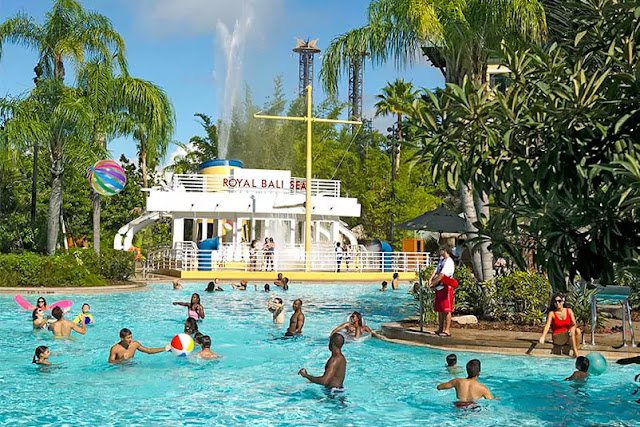 Universal's Loews Royal Pacific Resort em Orlando