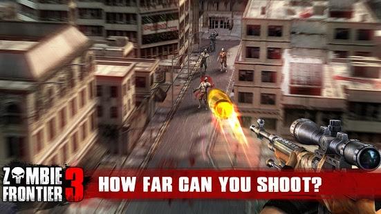 screenshoot Zombie Frontier 3 -Shot target