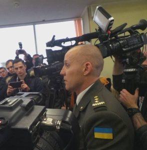 Colonel Maksym Myrhorodsky (Mike)