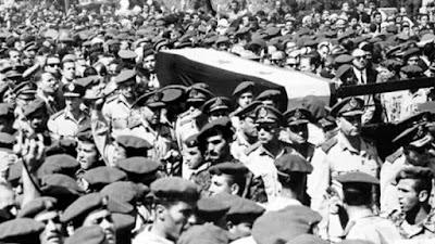 جنازة الزعيم جمال عبد الناصر
