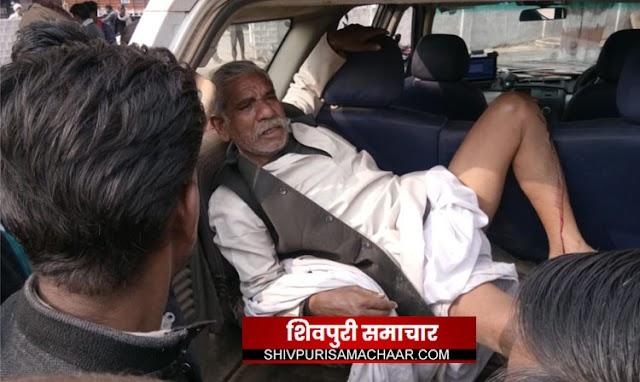 सरकारी प्लॉट पर कब्जे को लेकर विधायक राठखेडा के समधी जगदीश गोबरा पर प्राणघातक हमला | Bairad News