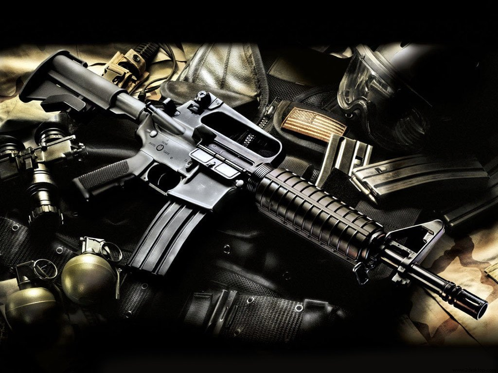 HD M16 Rifle Wallpapers