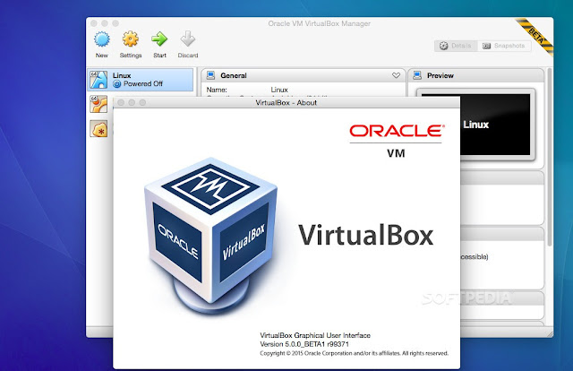 Virtualbox Terbaru 5.0.16 Build 105871 Full