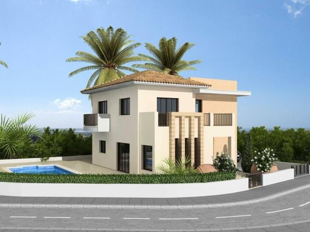 New home designs latest modern villas exterior designs for Villas exterior design pictures
