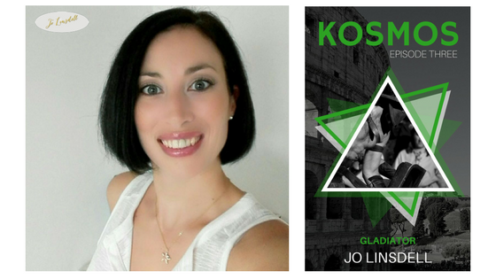 Release Day: Gladiator (KOSMOS Episode 3) by Jo Linsdell