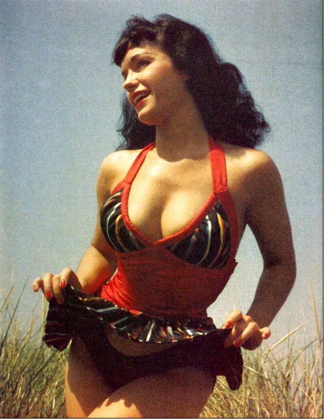 bettie page color # 7