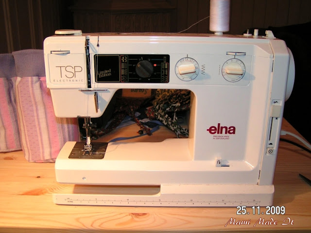 My sewing machine ELNA TSP electronic