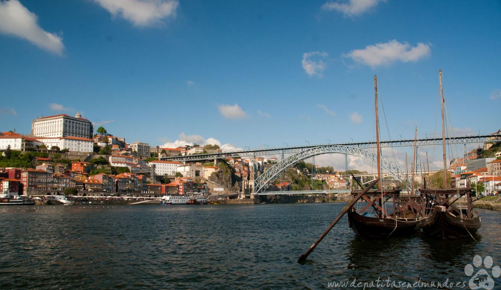 Puente de Luis I en Oporto