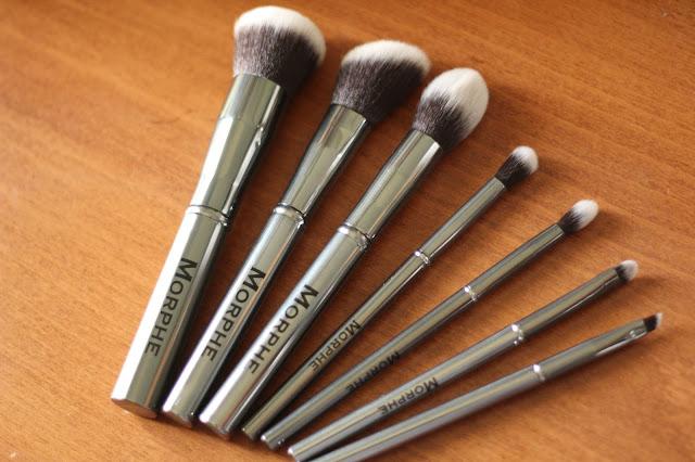 Morphe Set 699- The Gun Metal Brush Set Review!!