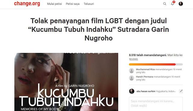 "Film ""Kucumbu Tubuh Indahku"" DItolak Masyarakat, Ribuan Orang Tandatangani Petisi"