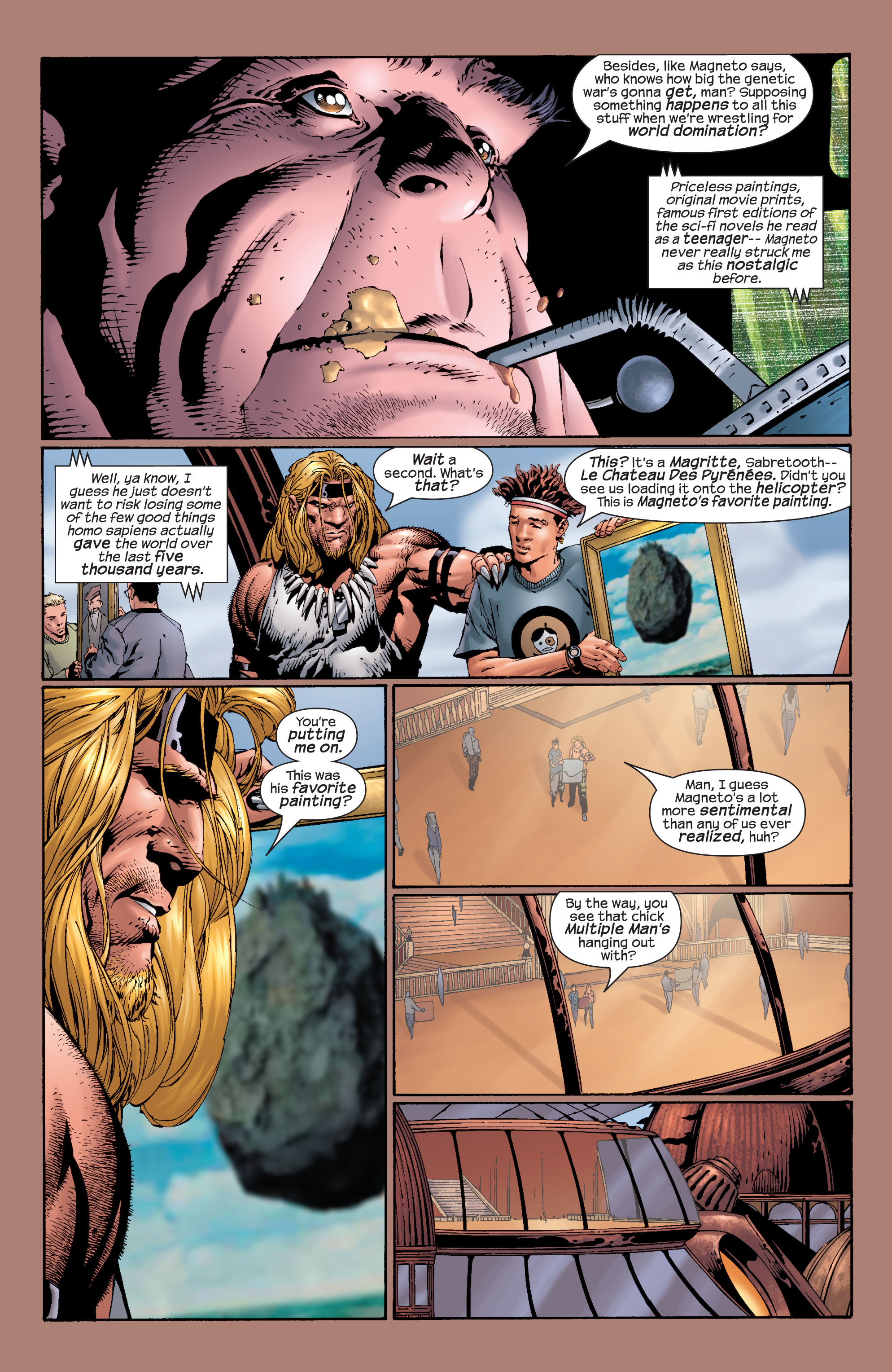 Read online Ultimate X-Men comic -  Issue #27 - 17