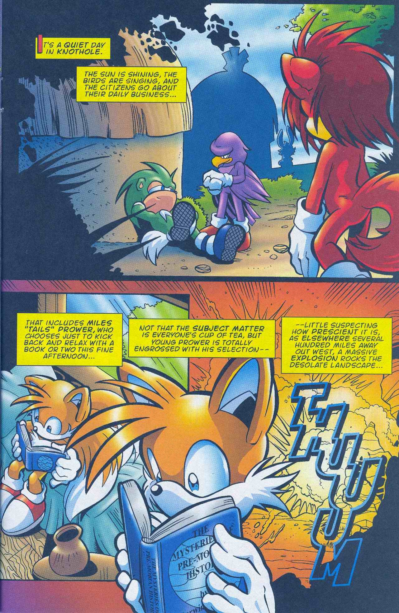 Read online Sonic The Hedgehog comic -  Issue #145 - 17