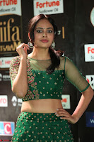 Nandita Swetha in a tight Green Choli Ghagra at IIFA Utsavam Awards March 2017 ~ 067.JPG