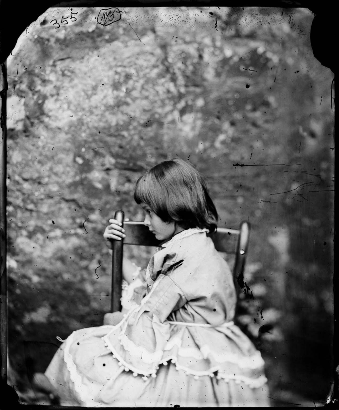 Alice Liddell: the real Alice in Wonderland.