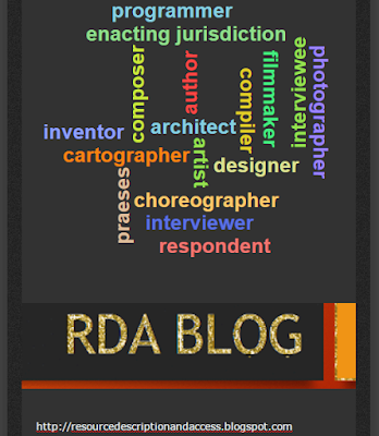 RDA RELATIONSHIP DESIGNATORS